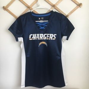 Chargers Jersey Size Small 100% authentic